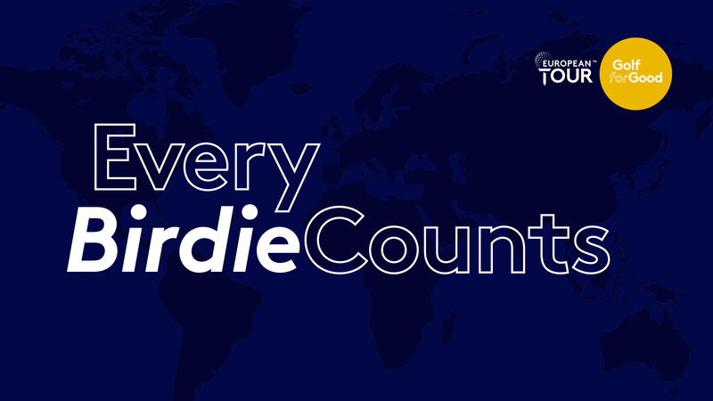 Golf for Good returns with launch of 'Every Birdie Counts' campaign